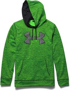 Under Armour Mens Storm Armour Fleece Twist Hoodie Hyper Green Medium     Want to know 7f37ca9b08
