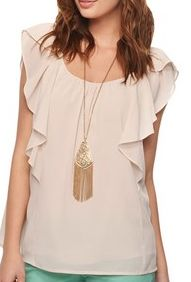 http://www.forever21.com/Product/Product.aspx?BR=f21=whatsnew_app_tops=2000041723=    Cute Ruffled Cap Sleeve Top