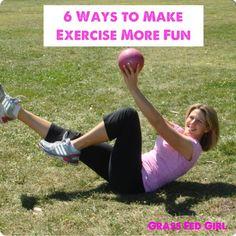 6 Tips To Make Exercise More Enjoyable