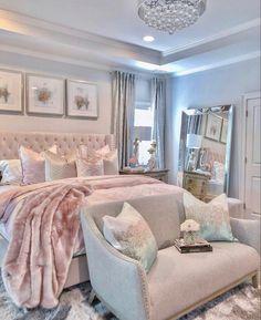 Room Design Bedroom, Room Ideas Bedroom, Small Room Bedroom, Fancy Bedroom, Budget Bedroom, Bedroom Decor For Teen Girls, Cute Bedroom Decor, Stylish Bedroom, Aesthetic Room Decor