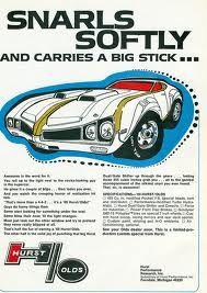 1969 HURST Oldsmobile 442 ad.