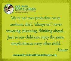 """Check out KFA's """"22 Things We With You Could Understand About Food Allergies."""""""
