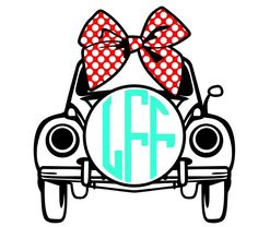 Car Monogram Decal Add a Personalization to Christmas Gift, Great Personalized Gift, Gift wrapping available, Personalize Almost Anything! by FransEverythingShop on Etsy