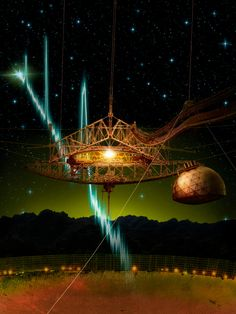 Powerful Radio Bursts in Space Can Explode Over and Over