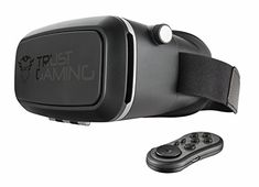 Trust GXT 720 Virtual Reality Headset with Bluetooth Controller for Smartphones up to 6 max phone size 315 x 59 inch *** Read more reviews of the product by visiting the link on the image.Note:It is affiliate link to Amazon.