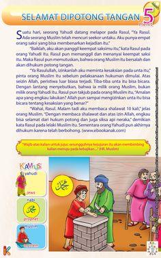 Rasul dan Pencuri yang Selamat Dipotong Tangan Kids Story Books, Stories For Kids, Short Stories, Islamic Studies, Islamic Qoutes, My Children, Kids And Parenting, Quran, Storytelling
