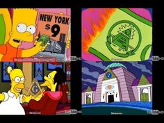The Simpsons - Illuminati Predictive Programming!