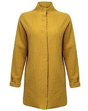 Funnel Neck Felted Wool Coat   East