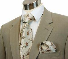 Elegant Paul Malone Silk Necktie Set