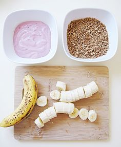 bananas+yogut+grape nuts+healthy frozen snack -2 by ...love Maegan, via Flickr