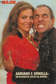 Ornella Muti and Adriano Chelentano