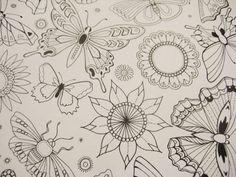 print & pattern: BOOK - johanna basford - secret garden