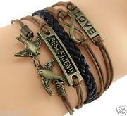 Friendship bracelet- Brown and Black