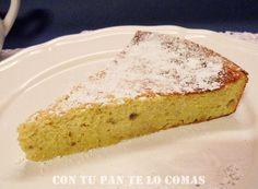 Con tu pan te lo comas: PASTEL DE PLÁTANO Y REQUESÓN