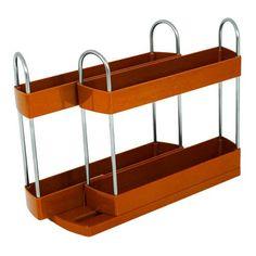 http://ift.tt/22hpuZK Gewürzregal  Gewürzständer mit Farbauswahl (orange) &(bibemip)#
