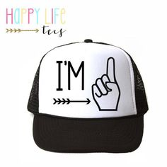 d0eb6f49a87 16 Best Coolest baby and toddler trucker hats! images