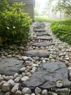 Lawn Drainage | French Drain