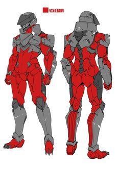 ArtStation - ARMORED GULL DESIGN CONCEPT ARTS, LAS 91214 Robot Concept Art, Armor Concept, Robot Art, Superhero Design, Robot Design, Art Design, Futuristic Armour, Futuristic Art, Halo Armor