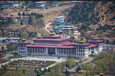 Bhutan Kings Palace in the capital Thimpu
