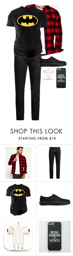 """""""Gender bent friends 2: Lexi"""" by skb5475 ❤ liked on Polyvore featuring Superdry, MasterCraft Union, Changes, Vans, PhunkeeTree, men's fashion and menswear"""
