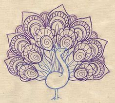 A beautiful machine embroidery design from Urban Threads