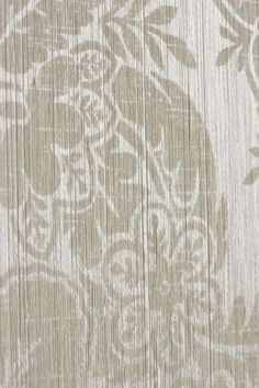 Fragment of damask cloth variant printed with natural pigments