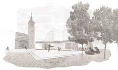 "Bustler: OOIIO's ""Culture Square"" wins Plaza del Salvador Rehabilitation in Spain"