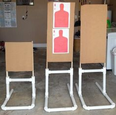 PVC Target Stands