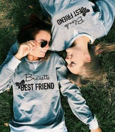 The Blonde & Brunette Best Friend matching sweaters!  only @ https://www.styleyourdreams.be/nl/home