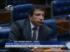 "Magno Malta Vai CONTRA Renan e diz:""Duvido que alguém pare a lava jato"" ..."