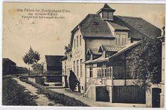 schönebeck elbe  | ... SACHSEN-ANHALT ALTE FÄHRE BEI SCHÖNEBECK ELBE GELAUFEN 1915 | eBay