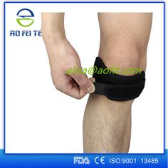 Patella Knee Strap for Knee Pain Relief for Hiking, Soccer, Basketball, Volleyball & Squats (1 Piece), Black #knee_support, #Squats