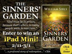 sinnersgarden-400-click - aliterarymafia.wordpress.com/2014/02/11/william-sirls-the-sinners-garden-ipad-mini-giveaway/
