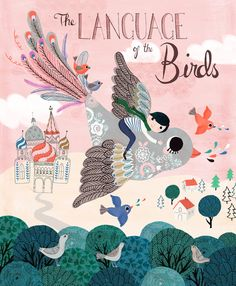 Language of the birds #Art #Print | Rebecca Jones