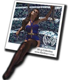 Designer swimwear Brand  Swimsuit trends SS15 by Flawless-V