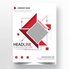 Abstract flyer report Template Business Card Psd, Business Flyer Templates, Business Brochure, Brochure Template, Leaflet Template, Report Template, Brosure Design, Flyer Design, Vector Verde