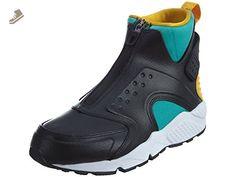 Nike Women's Air Huarache Run Mid Clean Jade/Black Running Shoe 10 Women US - Nike sneakers for women (*Amazon Partner-Link)