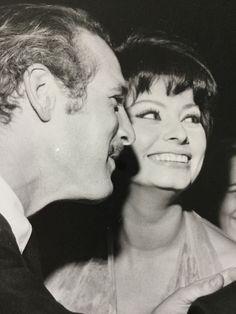 Agip / Sandro Girella - Paul Newman & David Niven & Sophia Loren & Joanne Woodward