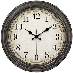 Amazon.com : french country bedrooms colors Wall Clock Silent, Wall Clocks, Analog Alarm Clock, Classic Clocks, Kitchen Clocks, Wall Clock Online, French Country Bedrooms, Retro Clock, Home Wall Decor