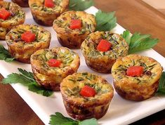 How to Make Quffins - Crust-Less Mini Quiches Baked in Muffin Tins Dairy Free Quiche Recipes, Mini Quiche Recipes, Tart Recipes, Crustless Mini Quiche, Cheese Recipes, Mini Quiches, Foods With Gluten, Sans Gluten, Gluten Free
