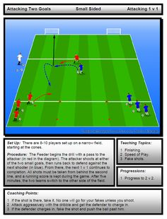 Attacking two goals