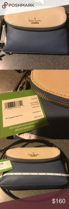 💙NWT KATE SPADE CROSS BODY💙 Beautiful Kate Spade Bag, Brand New!! kate spade Bags Crossbody Bags