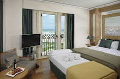 Triple Room, Las Arenas Hotel, Valencia Triple Room, Find Hotels, Hotel Deals, Hotels And Resorts, Valencia, Curtains, Bed, Spain, Furniture