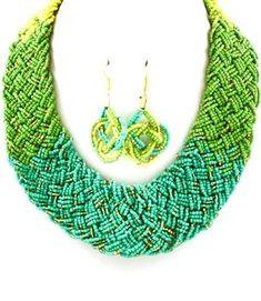 St Tropez Green Necklace #FeatureVirtualRealityAccs
