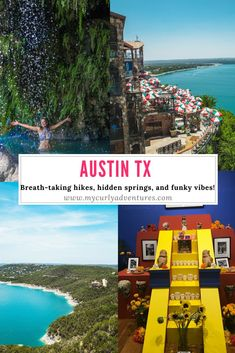 Austin Weekend Guide - My Curly Adventures Texas Vacations, Vacation Destinations, Vacation Spots, Family Vacations, Family Travel, Italy Vacation, Cruise Vacation, Disney Cruise, Things To Do In Austin Tx