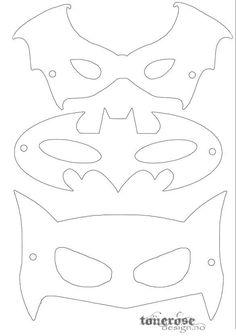 coloring pages - Free printable superhero masks! by lilian Printable Masks, Templates Printable Free, Free Printables, Batman Birthday, Superhero Birthday Party, Birthday Parties, Superhero Mask Template, Diy Superhero Costume, Superhero Halloween