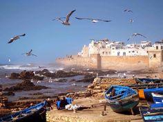 Les bateaux de pêches d'Essaouira