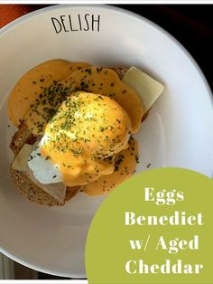 The Perfect Sunday Breakfast or Brunch item to share with your friends and family!  Check out the link for the full recipe!  #eggs #eggsbenedict #benedict #breakfastideas #breakfast #brunch #brunchideas Healthy Breakfast Recipes, Easy Healthy Recipes, Easy Meals, Sunday Breakfast, Sunday Brunch, Breakfast Ideas, Brunch Items, Brunch Menu, Perfect Eggs