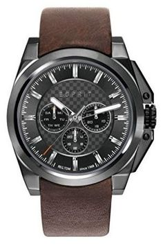 Esprit For Men Analog, Casual Watch Casual Watches, Watches For Men, Casio, Egypt, Latest Fashion, Leather, Stuff To Buy, Gents Watches, Men Watches
