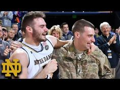 "#FoxNewsInsiders .... ""We don't ask for much for Christmas, so this is the best present I've ever gotten."" WATCH U.S. Army Lt. Bo Farrell, who was deployed in Afghanistan, epically surprise his brother Matt moments after winning his basketball game for the University of Notre Dame..... http://insider.foxnews.com/2016/12/20/notre-dame-basketball-player-matt-farrell-surprised-military-brother-emotional-reunion"
